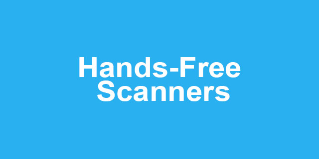 Hands-Free Scanners